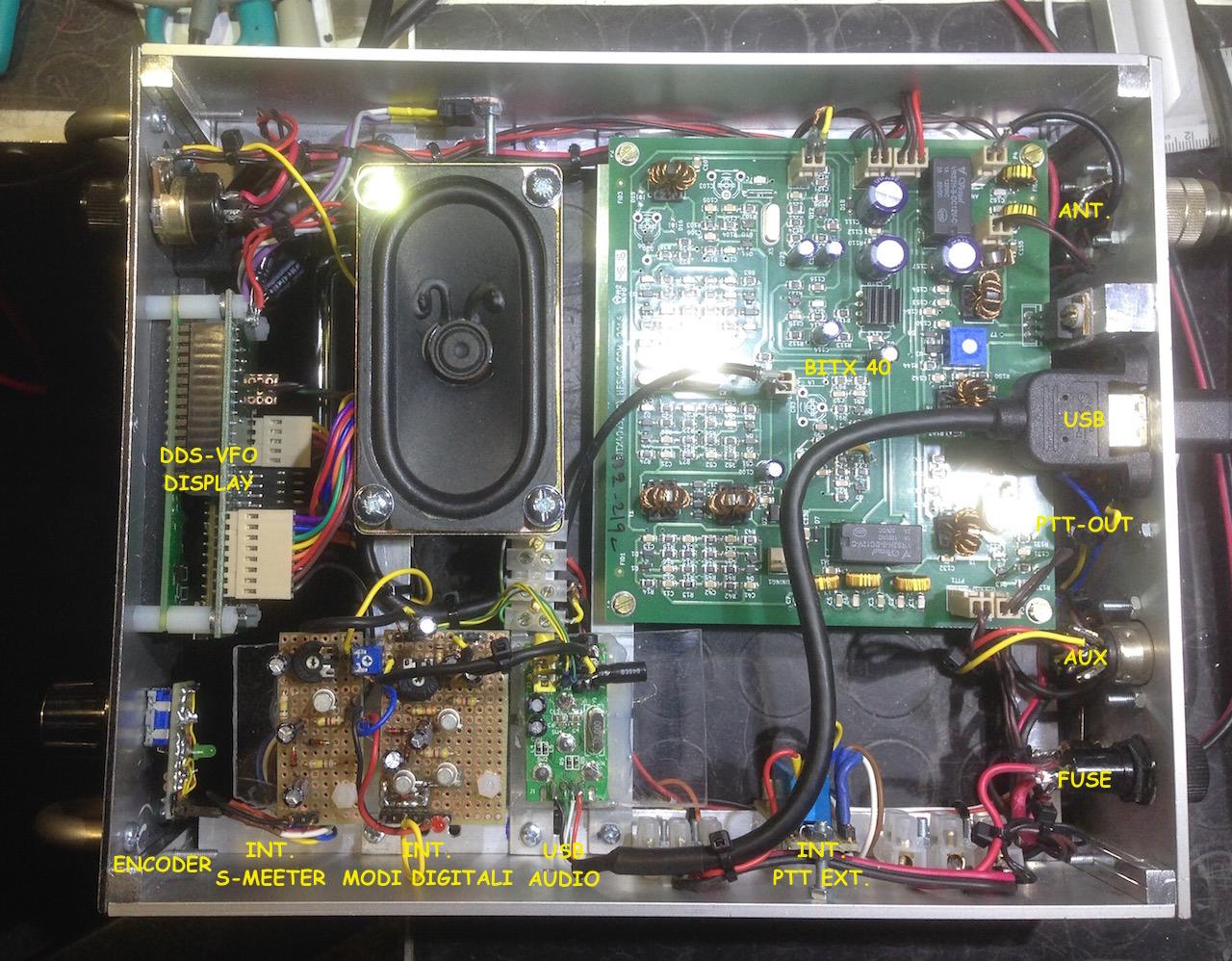 RTX Bitx40 psk31