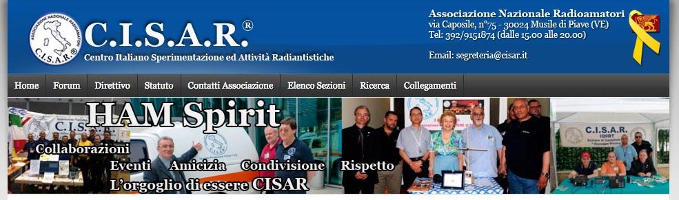 Sito Cisar Radioamatori
