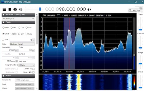 SDR Reception